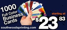 Amazing Deals on Business Cards at Southwoods Printing